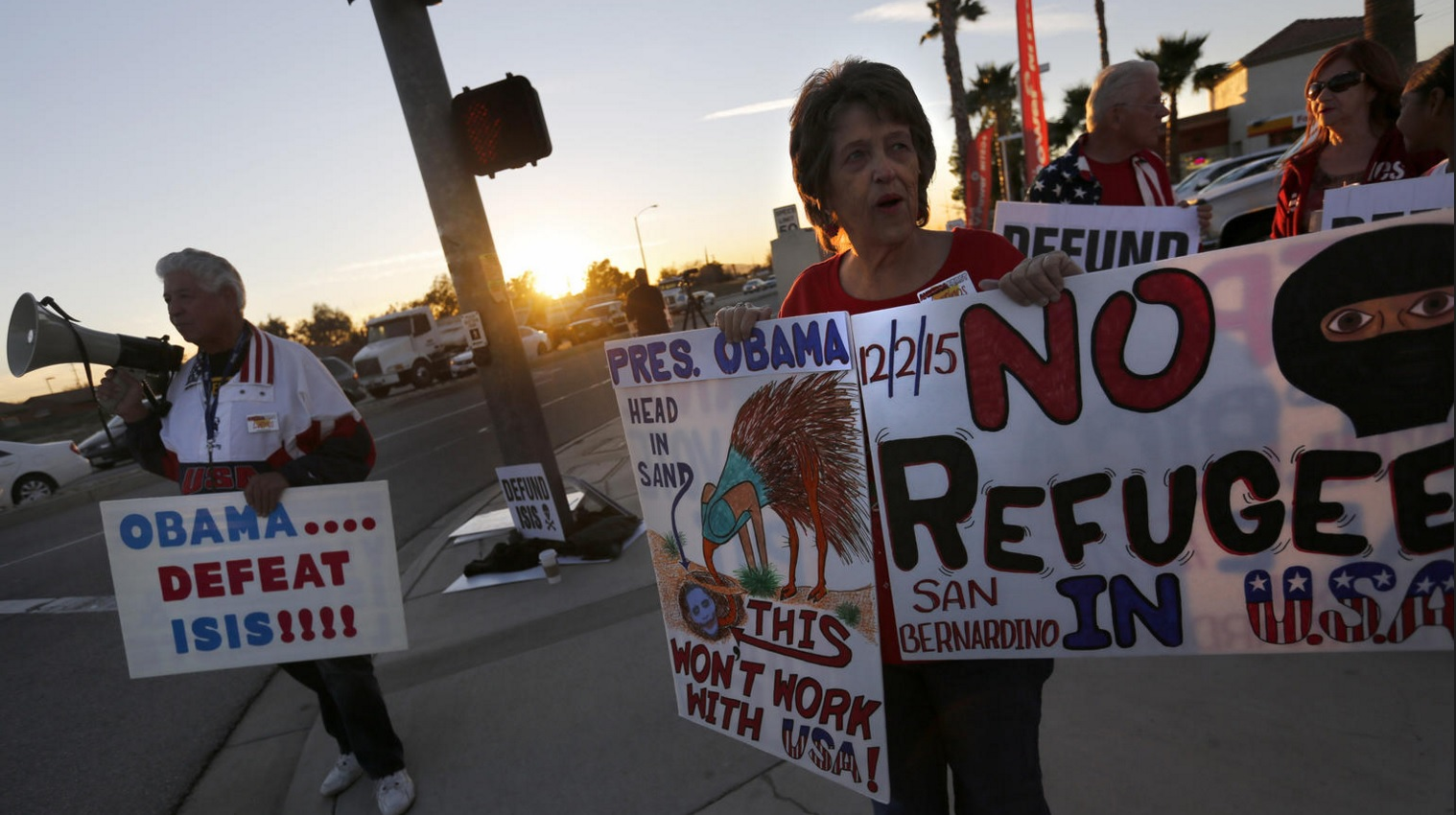 San Bernardino Shooter Reportedly Radicalized, Wife